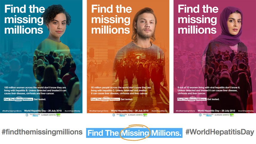 """Find the Missing Millions"" on World Hepatitis Day"